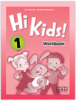 Hi Kids 1 British WB Cover