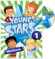 Young Stars 1 WB StudentsCD Cover