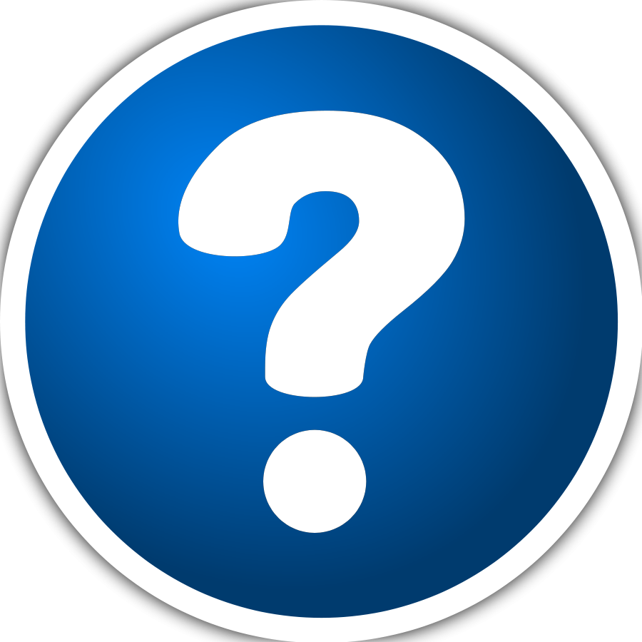 question purzen Icon with question mark Vector Clipart